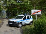 Strážníci pomáhají v Husinci