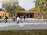 Vstupní brána nové školy