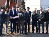 Zahájení stavby hasičské zbrojnice