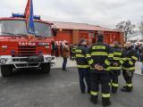 Otevření hasičské zbrojnice