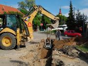 Ilustrační obrázek stavba kanalizace
