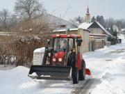 Ilustrační obrázek Úklid sněhu