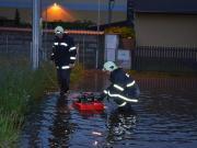 Hasiči při povodních 2013